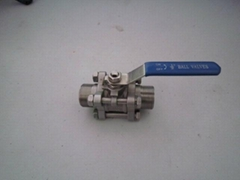 3PC Ball Valve with Male Thread