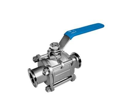 3PC BALL VALVE stainless steel  WCB 4