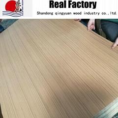 Engineering wood veneer spun gold Teak veneer