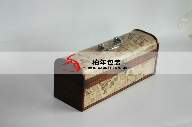 高档葡萄酒皮盒 1
