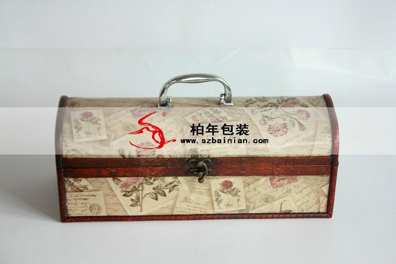 高档葡萄酒皮盒 2