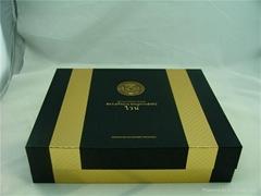 深圳白酒皮盒包装