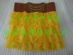 韓式花邊短裙