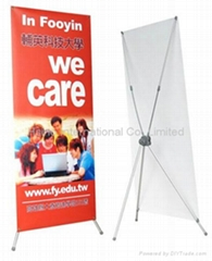 X Banner Stand for Promotion
