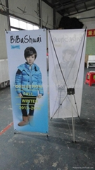 X Display Stand for Advertising