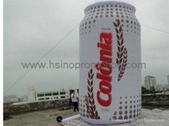 充氣罐模型