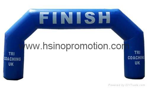 充氣廣告拱門 2