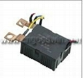 Latching relay for compound switch