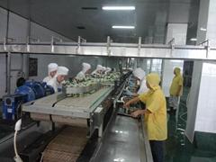 魚罐頭生產線