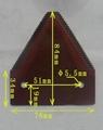 國標Ⅱ型收割機動刀片
