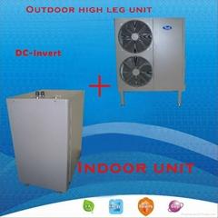 DC-invert air source heat pump