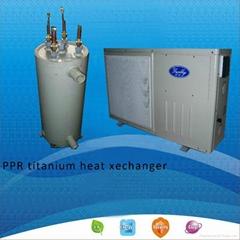 low cost swimming pool heat pump