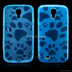 TPU case for Samsung S4/I9500 with sole print