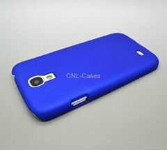 PC case for Samsung S4/I9500 with rubber oil painting