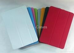 3 folder intelligent holster for ipad mini
