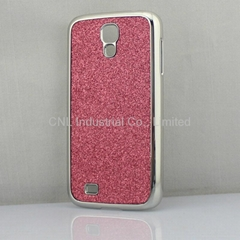 leather + PC with electroplate case Samsung Galaxy S4,different color availabled