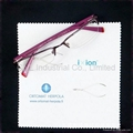 lens cleaning cloth, eyeglass cleaning cloth with customized printing 2