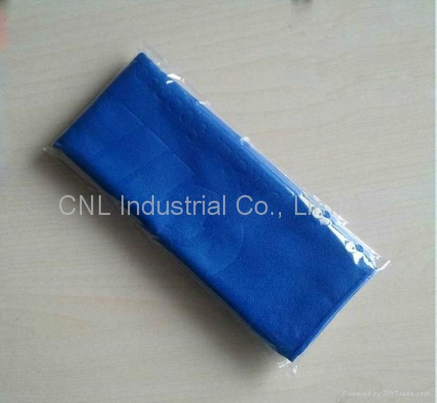 microfiber clean cloth for instrument, jewlry,with logo printing for promotion 5