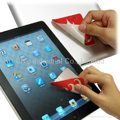 laptop microfiber screen cleaner, customized shape,with logo printing