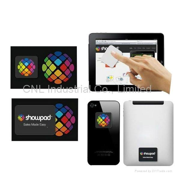 promotion gift microfiber sticky screen wiper, customized shape,logo printing 1