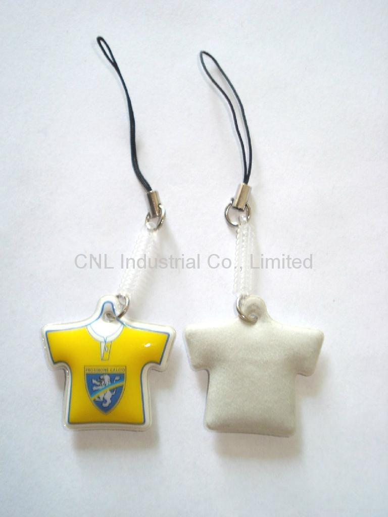 PVC keychain mobile screen cleaner with customized printing 4