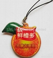 PVC cellphone screen cleaner charms,customized printing and shape available 4