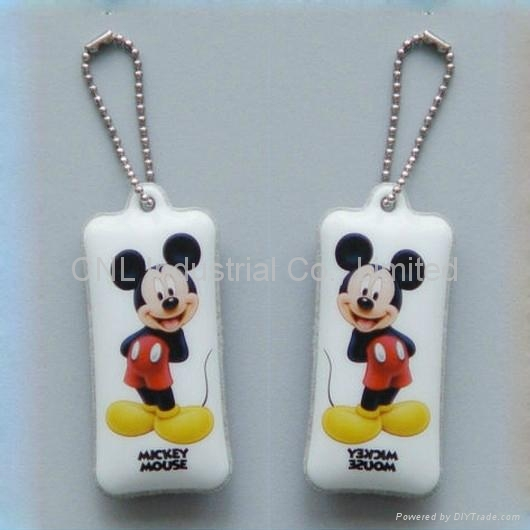 PVC mobile screen wiper keychain gift,customized printing and shape available 1