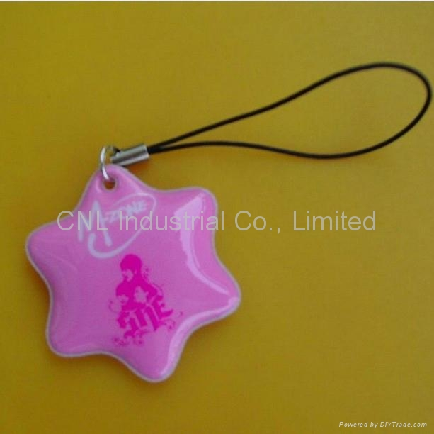 PVC mobile screen wiper keychain gift,customized printing and shape available 2