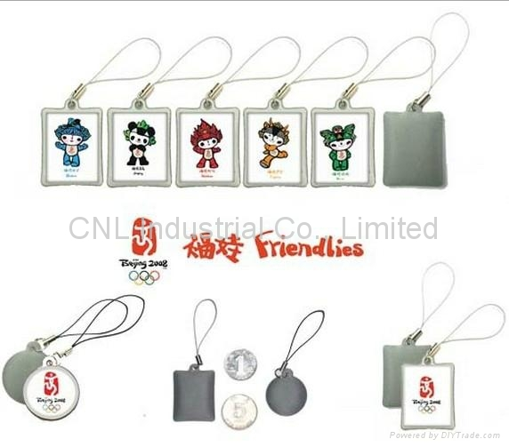 PVC mobile screen wiper keychain gift,customized printing and shape available 5