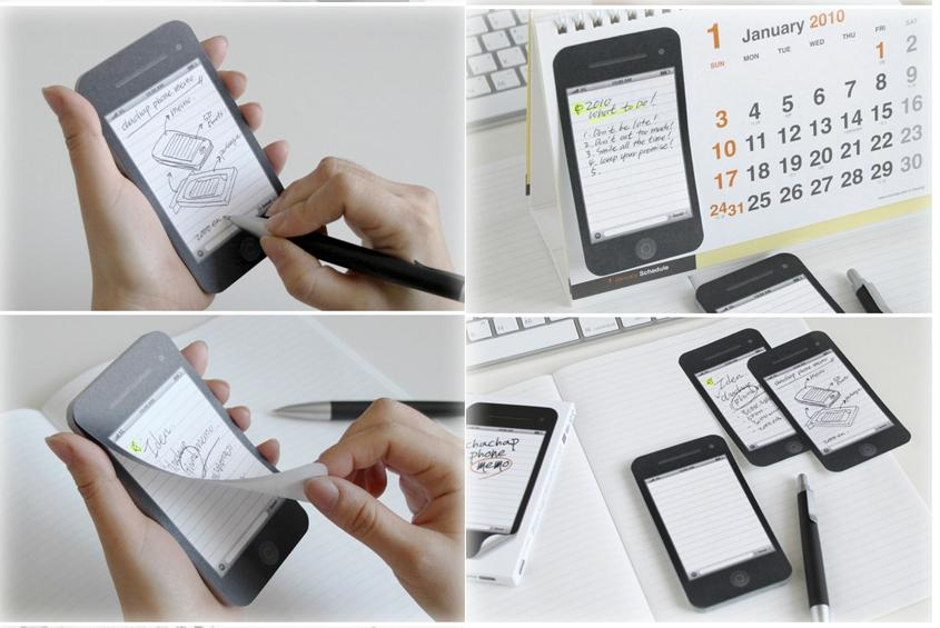 promotion gift iphone shape sticky memo note, sticky pad,irregular shape availab