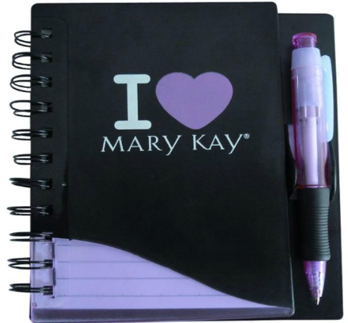 PP cover spiral binding notebook,diary book, agenda notebook, with logo printing 4