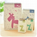 spiral binding notebook,diary notebook, agenda notebook, with logo printing 4