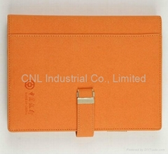 PU leather cover notebook,diary book,