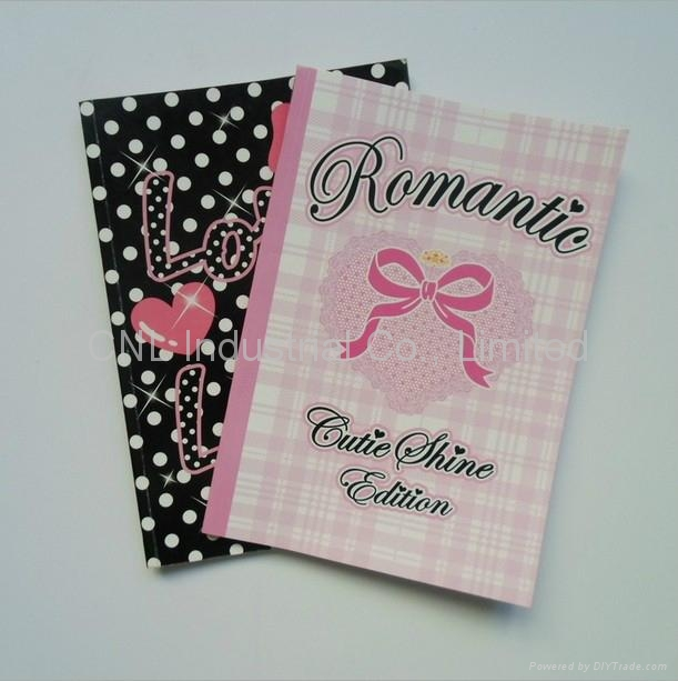 Diy Soft Cover Book Binding : Soft cover notebook diary book agenda with logo