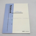 Saddle stitch binding notebook,diary