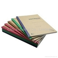 Saddle stitch binding notebook,diary book, agenda notebook, with logo printing 4