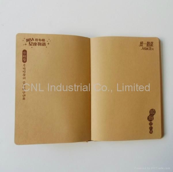 diary book, agenda notebook, business book,with logo printing 4