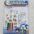 Coloring book & paint set, drawing book, child color filling book,painting book