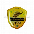 tourist souvenir epoxy resin magnetic sticker for refrigerator with printing