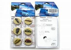 tourist souvenir epoxy resin magnetic sticker for refrigerator set