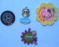 gift cartoon epoxy resin magnetic fridge sticker for refrigerator