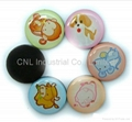 crystal fridge magnet tourist convenir with customized printing for refrigerator