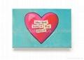 Promotion paper magnetic sticky fridge gift with custom printing, custom shape