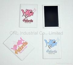 Promotion tin fridge magnet travel souvenir gift with customized printing