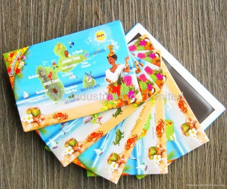 Promotion gift tinplate magnetic fridge sticker for fridge,customized welcome