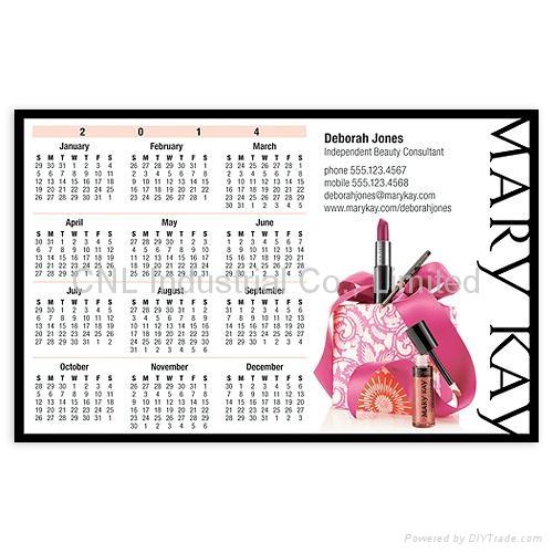Customized fridge magnetic learning fridge calendar, good for promotion gift 5