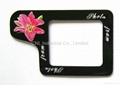 Beautiful home gifts Decorative & Flexible handmade magnetic fridge photo frame