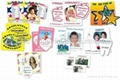 Promotion gifts refrigerator magnet paper picture frame, with customize printing