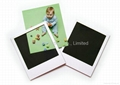 Die cut souvenir rubber magnetic fridge photo frame with any shape available