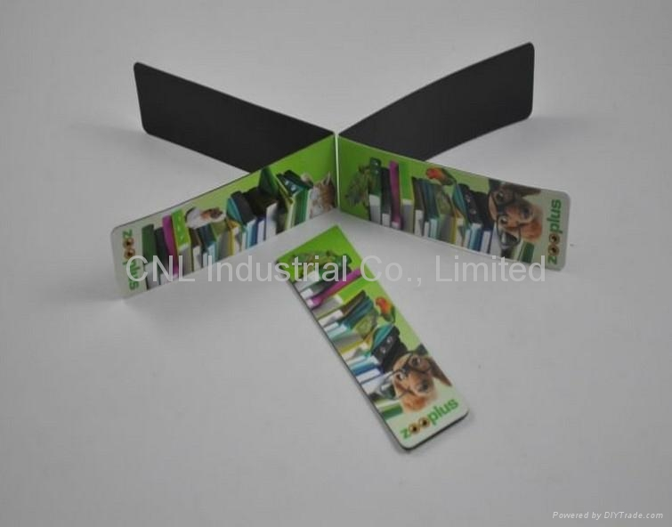 Promotional gift Magnetic Bookmark with customized logo for reading